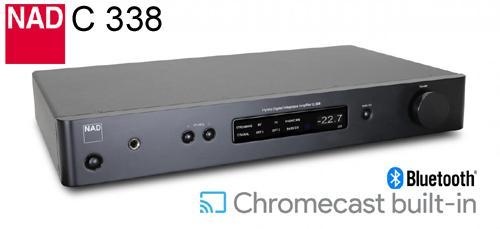 NAD C338 Hybrid Digital Vahvistin WLAN-0