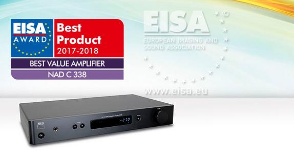 NAD C338 Hybrid Digital Vahvistin WLAN-17237