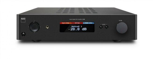 NAD C368 Hybrid Digital Vahvistin-0