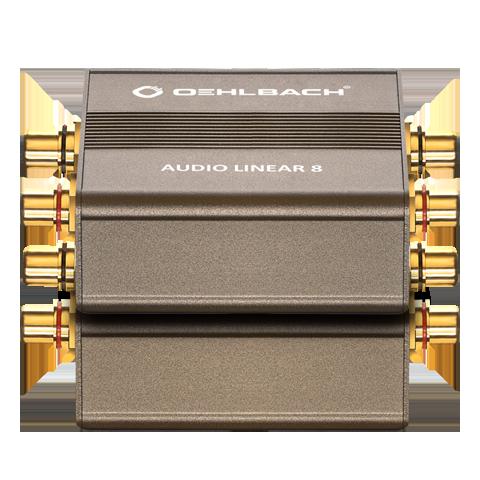 Oehlbach Audio Linear 8 RCA Häiriösuodin-16236