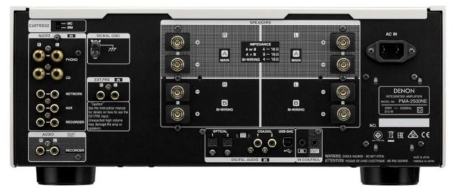 Denon PMA-2500NE Stereovahvistin DAC-16359