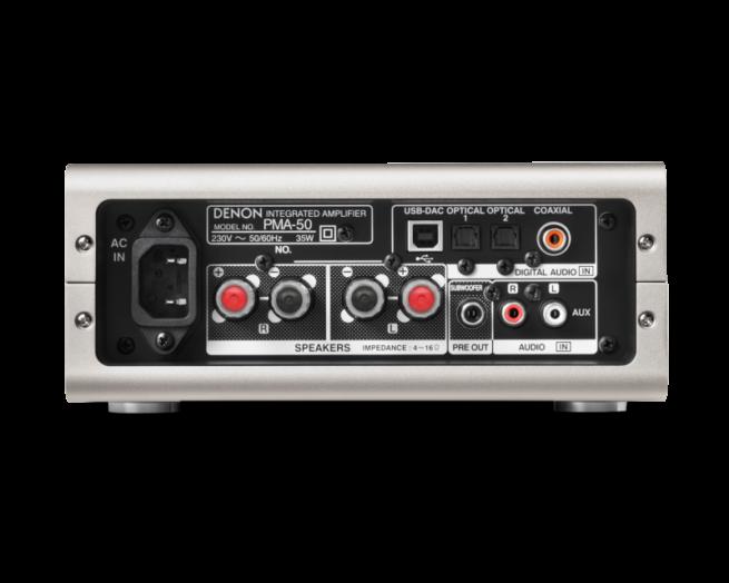 Denon PMA-50 Vahvistin-16349