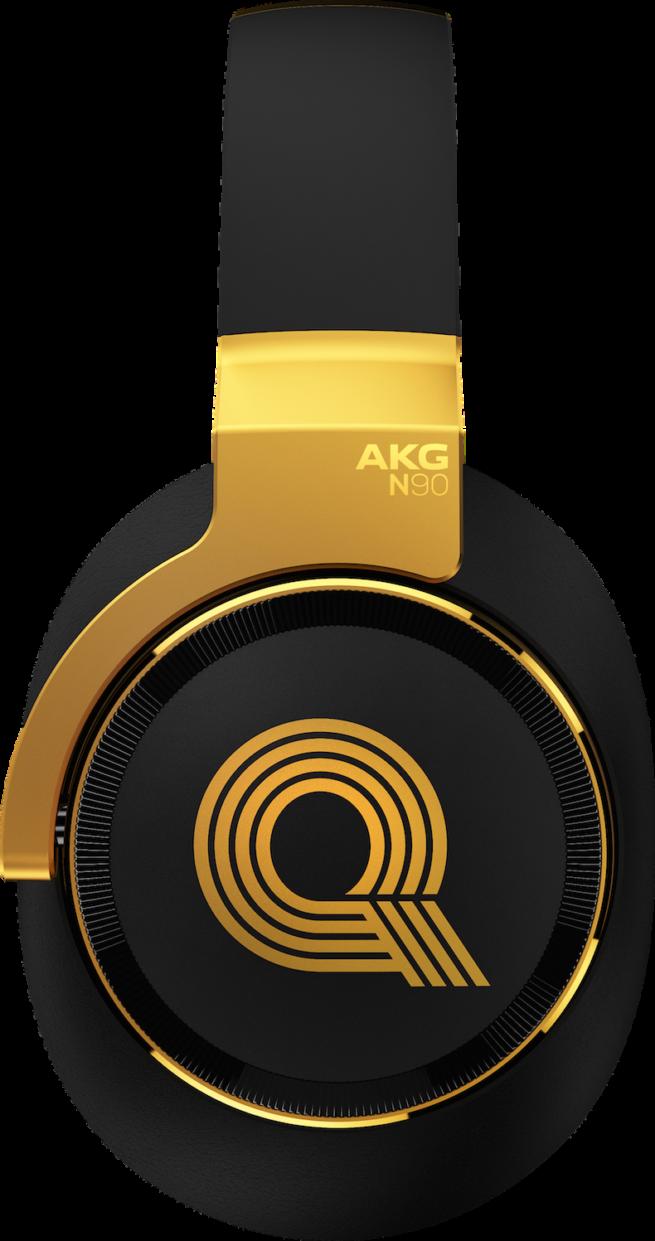 AKG N90Q Referenssi Kuulokkeet, Musta-16473