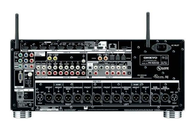 Onkyo PR-RZ5100 11.2 A/V Etuvahvistin Verkkoliitäntä-16976