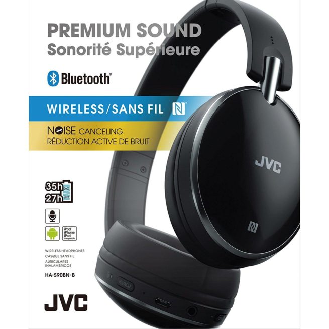 JVC HA-S90BN Bluetooth Vastamelukuuloke-16896