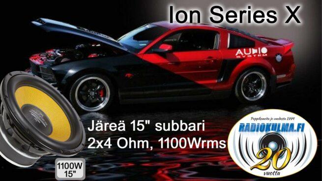 "Audio System X 15-1100 15"" Subwoofer, 2x4 ohm-0"