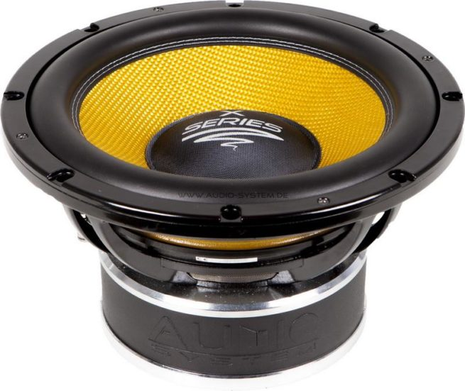 """Audio System X 12 750Wrms12"""" Subwoofer, 4 ohm-17167"""