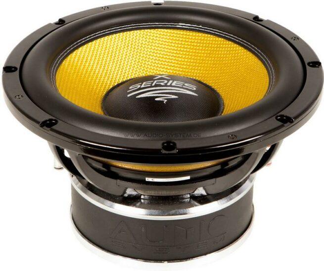 "Audio System X 12-900 12"" Subwoofer, 2x4 ohm-17162"