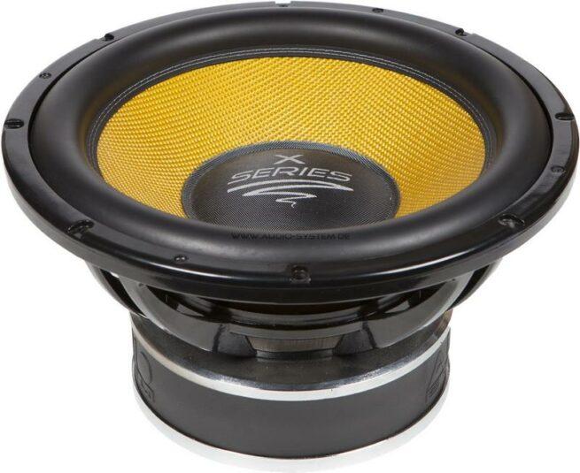 "Audio System X 15-1100 15"" Subwoofer, 2x4 ohm-17170"