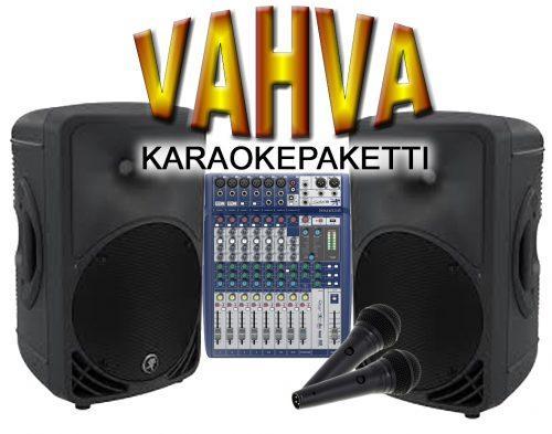 Radiokulma Vahva Karaokepaketti-0