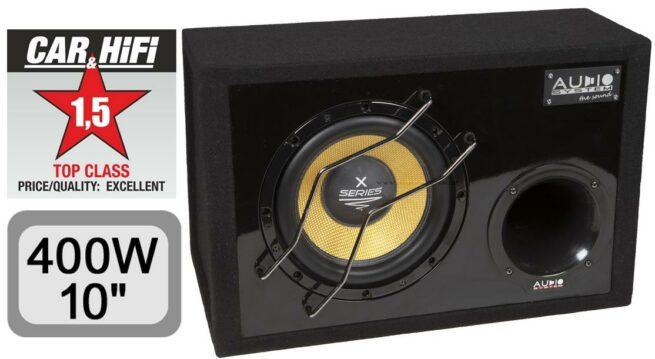 "Audio System X 10 BR 400Wrms 10"" Koteloitu-0"