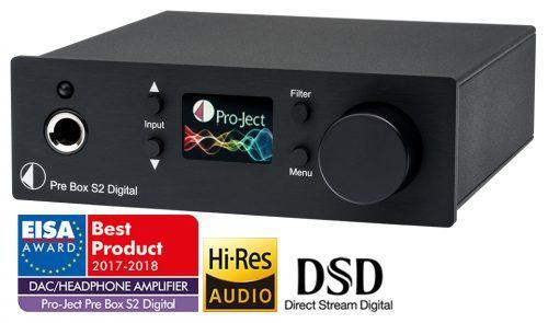 Pro-Ject Pre Box S2 Digital etuvahvistin-0