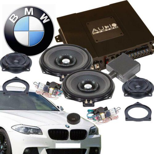 BMW E/F Aktiivikaiutinpaketti, 600 Wattia-0