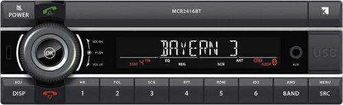 Kienzle MCR2416BT 24V. Bluetooth/Usb Automotive Soitin-0