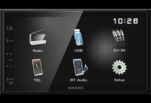"Kenwood DMX110BT 6.8"" USB Bluetooth Vastaanotin-0"