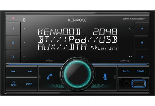 Kenwood DPX-M3200BT 2DIN Radio-0