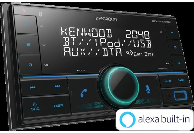 Kenwood DPX-M3200BT 2DIN Radio-23609