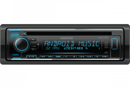 Kenwood KDC-172Y CD-Autoradio USB/AUX-0