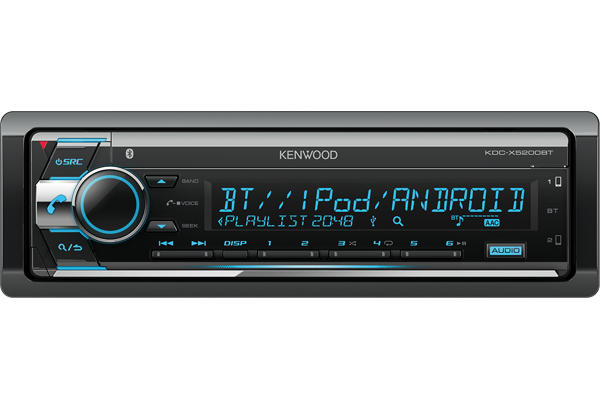 Kenwood KDC-X5200BT DSP Autosoitin-0