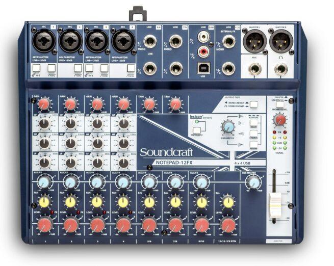 Soundcraft Notepad-12FX-18090