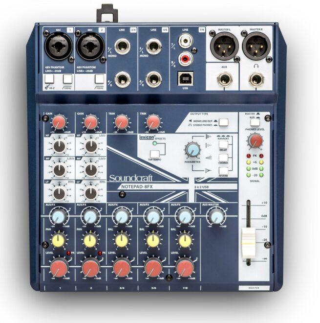 Soundcraft Notepad-8FX-18084