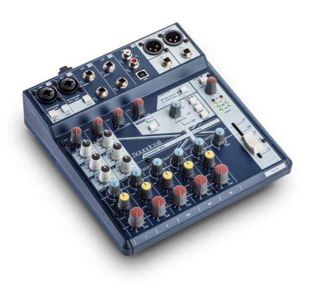 Soundcraft Notepad-8FX-0