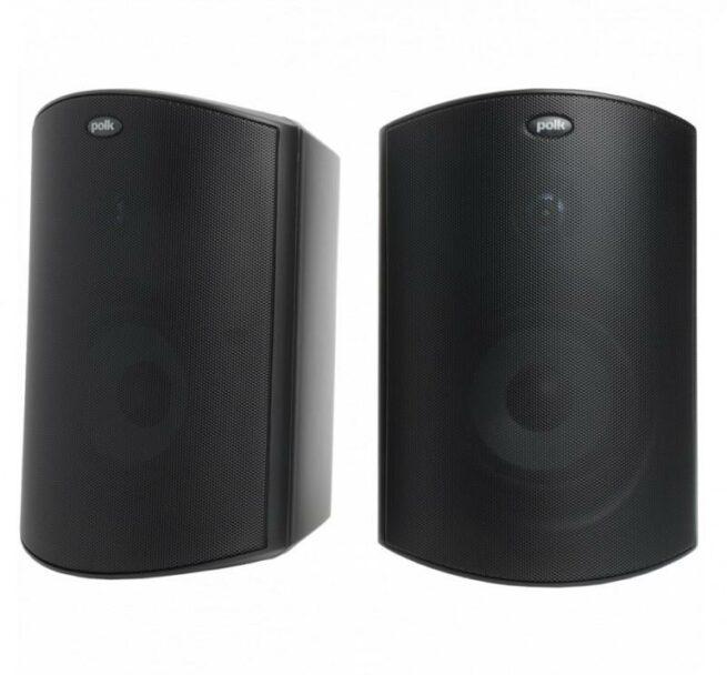 Polk Audio Atrium6 ulkokaiutinpari (musta)-0
