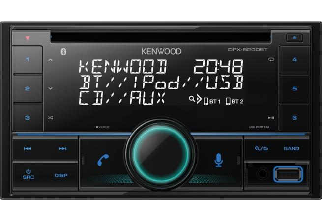Kenwood DPX-5200BT 2DIN CD/USB Bluetooth-23612