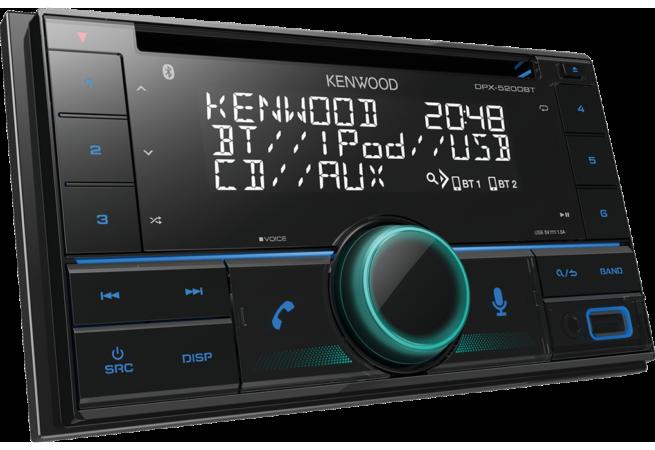 Kenwood DPX-5200BT 2DIN CD/USB Bluetooth-0