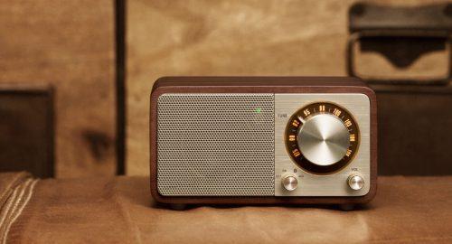 Sangean WR7 Akku Pienoisradio Bluetooth Wallnut-0