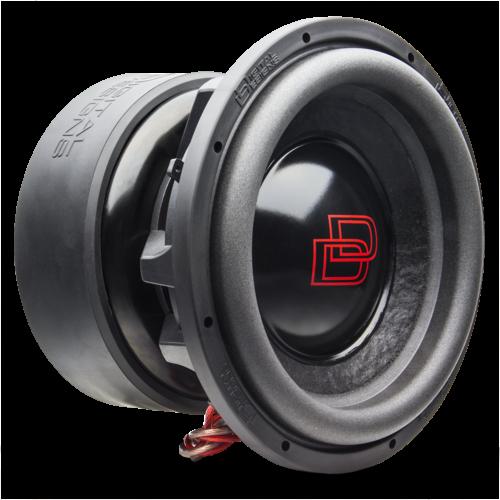 """DD Audio 9912B D0.5 ESP 12"""" 2 x 0.5 ohm-0"""
