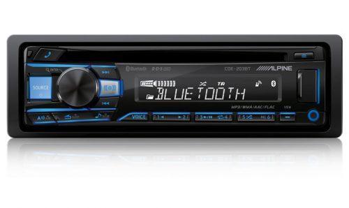 Alpine CDE-203BT CD/Bluetooth Autoradio-0