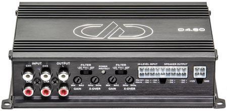 DD Audio D4.60 4-Kanavainen D-Luokka-0