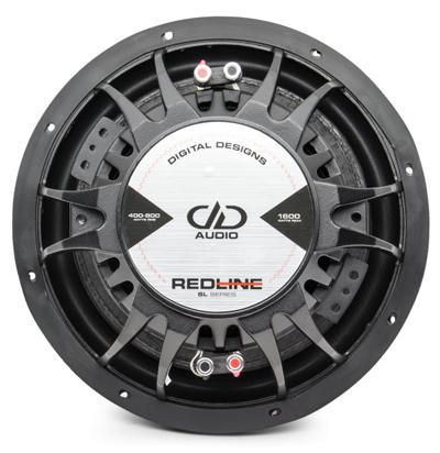 "DD Audio Redline SL710 D4 10"" Slim 2 x 4 ohm-19221"