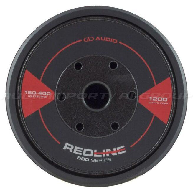 """DD Audio Redline 508d D4 8"""" 2 x 4 ohm, 150-400Wrms-19836"""