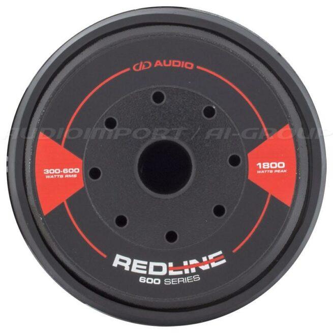 """DD Audio Redline 610d D4 10"""" 2 x 4 ohm, 300-600Wrms-19803"""