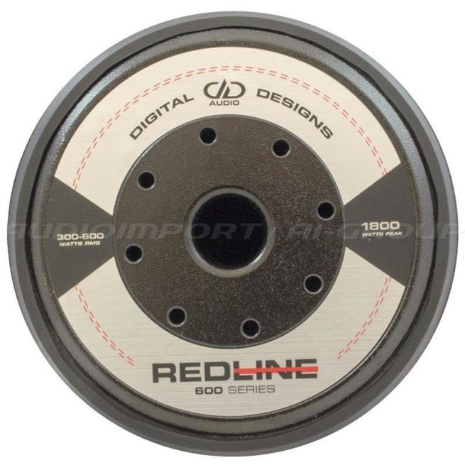 """DD Audio Redline 612d D2 12"""" 2 x 2 ohm, 300-600Wrms-19762"""