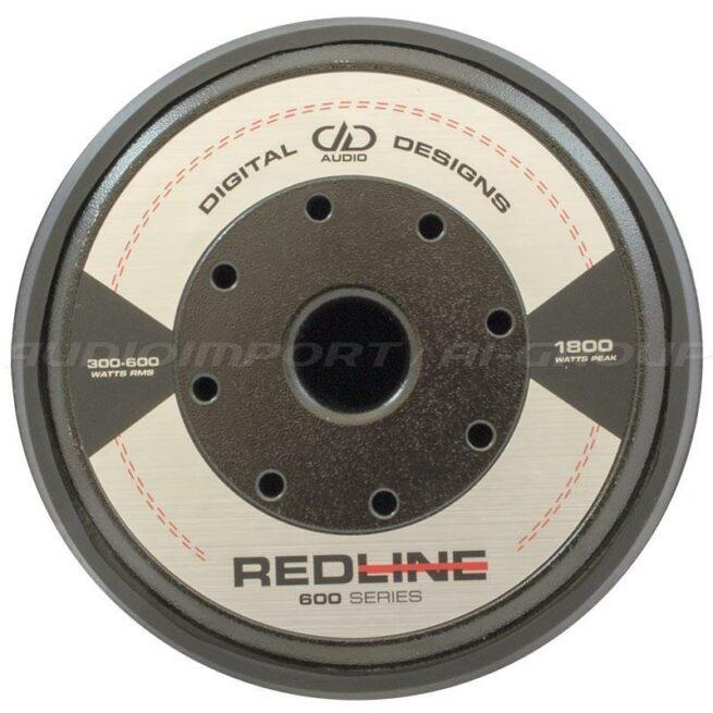 """DD Audio Redline 612d D4 12"""" 2 x 4 ohm, 300-600Wrms-19770"""