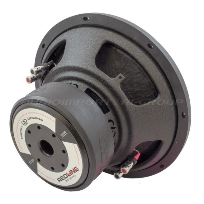 """DD Audio Redline 612d D4 12"""" 2 x 4 ohm, 300-600Wrms-19773"""