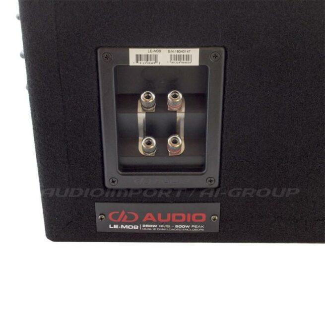 "DD Audio LE-M08d 8"" Valmiskotelo, 250-500W-19919"