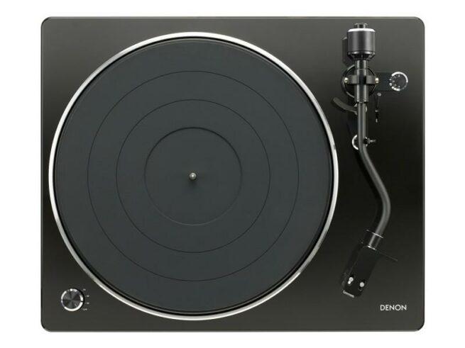 Denon DP-400 levysoitin (musta)-20316
