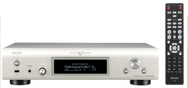 Denon DNP-800NE HEOS Verkkosoitin, WiFi/Bluetooth/Airplay2-0