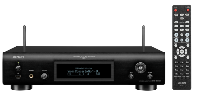 Denon DNP-800NE HEOS Verkkosoitin, WiFi/Bluetooth/Airplay2-20219