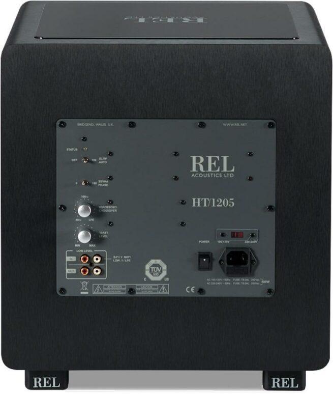 """REL HT/1205 12"""" Akt. Subwoofer-20520"""