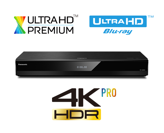 Panasonic DP-UB820 Ultra HD Blu-ray -soitin -0