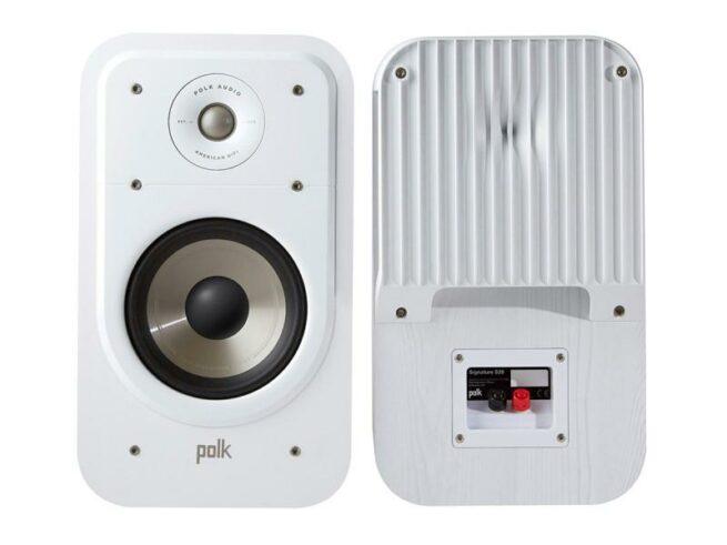 Polk Audio SIGS20E Jalustakaiuttimet, valkoinen-0
