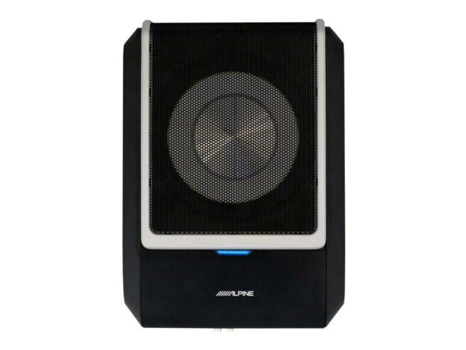 Alpine PWD-X5 4-Kanava DSP vahvistin & Litteä aktiivisubbari Bluetooth-20706