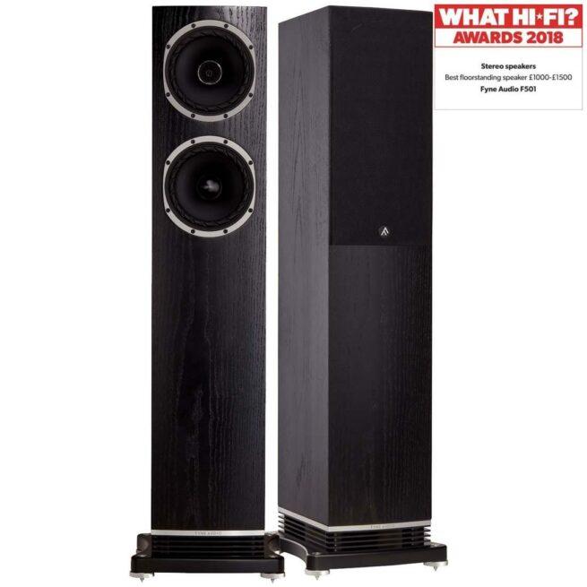 Fyne Audio F501 2.5-Tie 2x150mm Lattiakaiutin-0