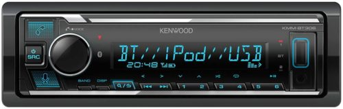Kenwood KMM-BT306 USB Bluetooth DSP Soitin-0
