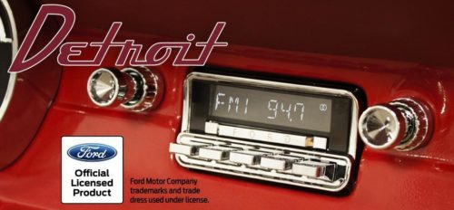 Retrosound Detroit Ford Mustang 64-66 malli-0